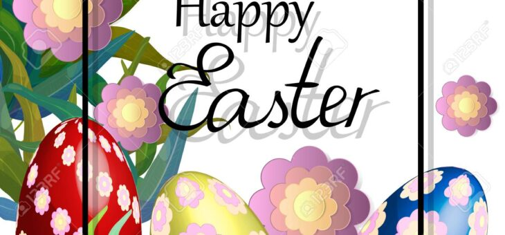 Зі святом Пасхи! Happy Easter!